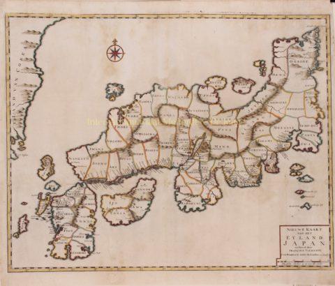 Japan – François Valentijn, 1724-1726
