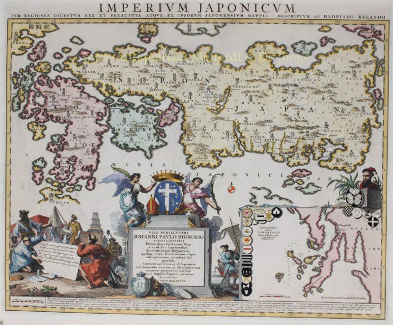 Keizerrijk Japan – Reinier en Josua Ottens, na 1720