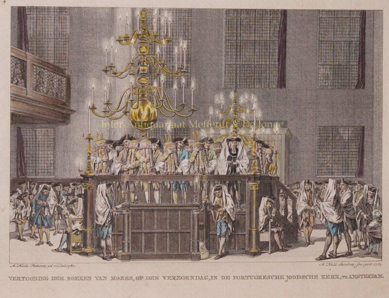 Jom Kipoer – Abraham Pietersz. Hulk, 1783