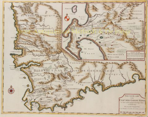 Kaap de Goede Hoop, Kaapstad – Francois Valentijn, 1724-1726