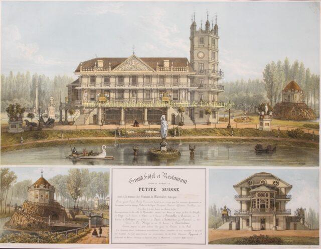 Kasteel La Petite Suisse 19e-eeuw
