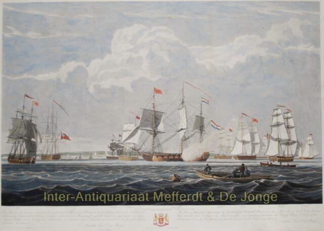 Einde Engels embargo Nederlandse koopvaardijschepen