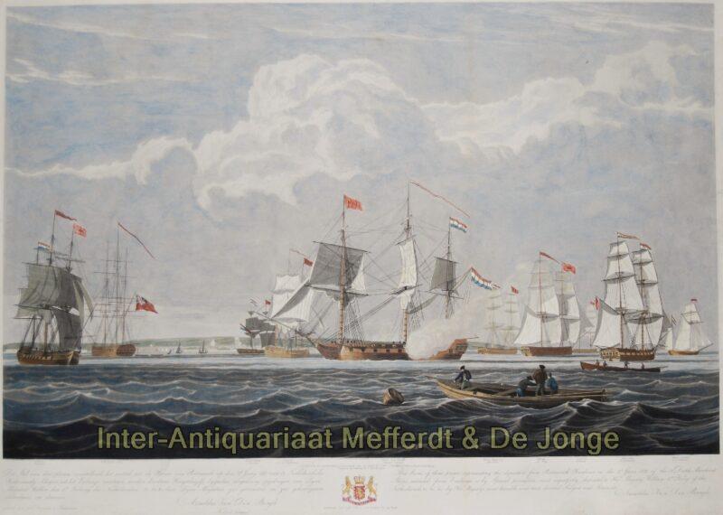 Nederlandse koopvaardijschepen – naar John Christian Schetky, 1833