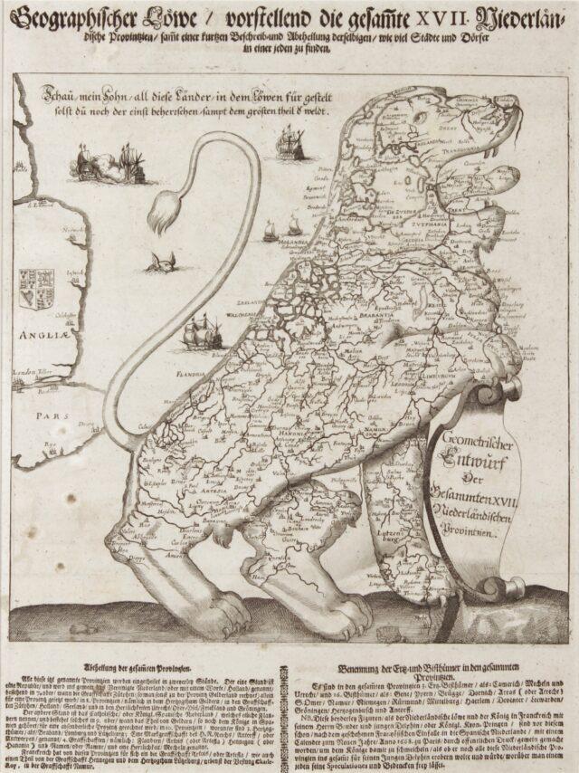 Leeuwekaart - Wilhelm Serlin