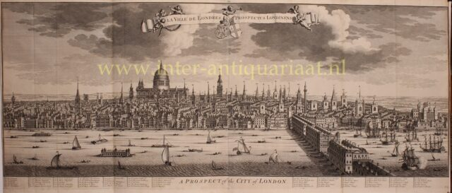 panorama van 18e-eeuws Londen