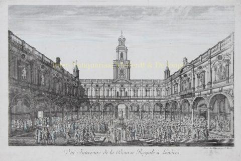 Londen, Royal Exchange – Daumont, ca. 1770