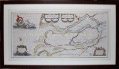 Maasmonding (lijst) – Johannes van Keulen, 1681