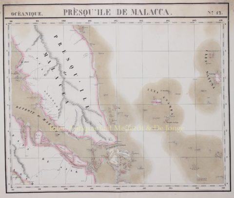 Malakka, Singapore – Philippe Vandermaelen, 1827