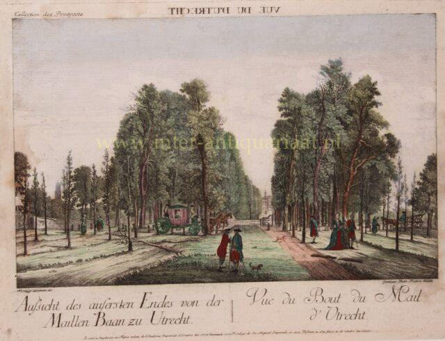 Maliebaan Utrecht 18e-eeuw