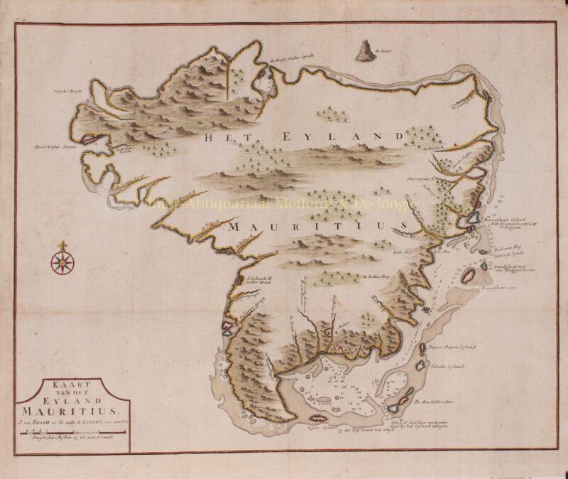 Mauritius – François Valentijn, 1724-1726