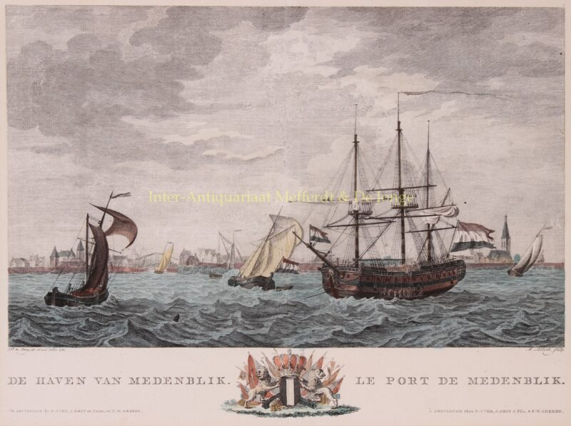 Medemblik – Matthias de Sallieth naar Dirk de Jong,1802