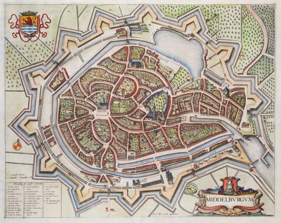 Middelburg plategrond - De Wit