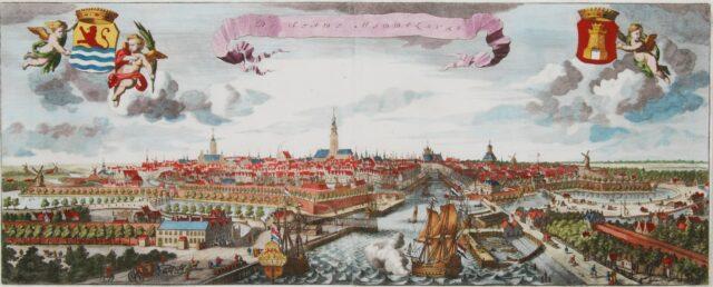 Middelburg panorama - Smallegange
