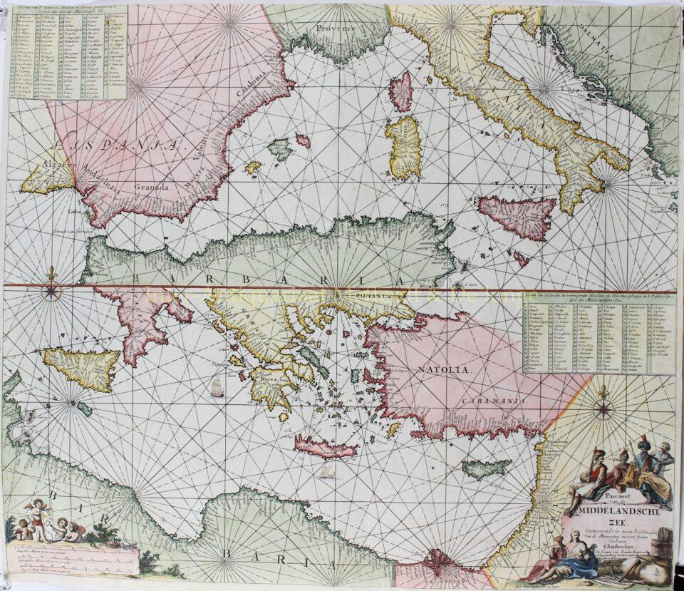 Middellandse Zee - Johannes van Keulen