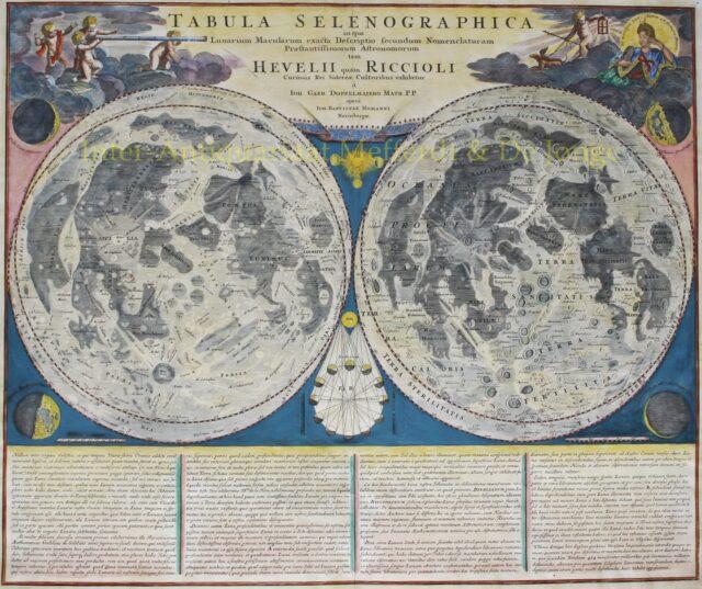 Maankaart - Homann