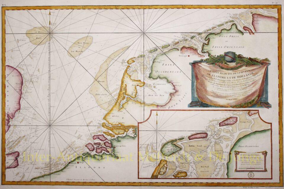Zeekaart Nederlanden