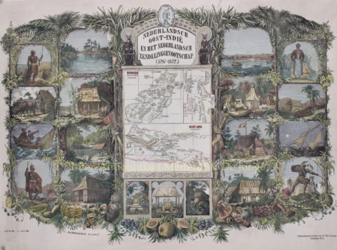 Indonesië (Celebes, Oost-Java) – Richard Brend'amour, 1872