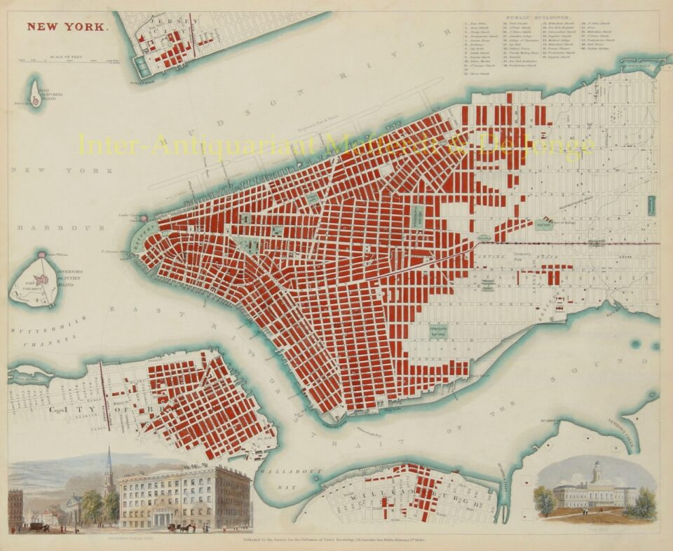 New York City - 1840