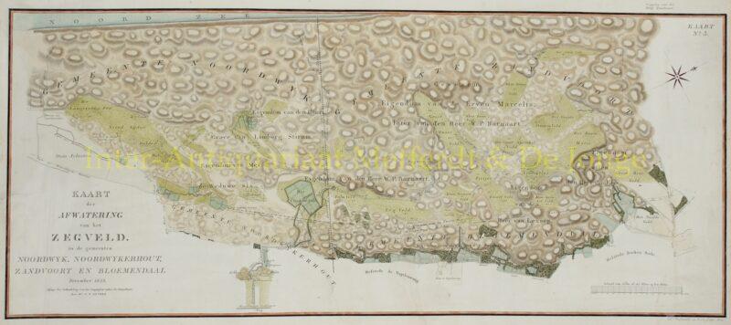 Noordwijk, Noordwijkerhout, Zandvoort, Bloemendaal – Daniel Theodoor Gevers, 1823