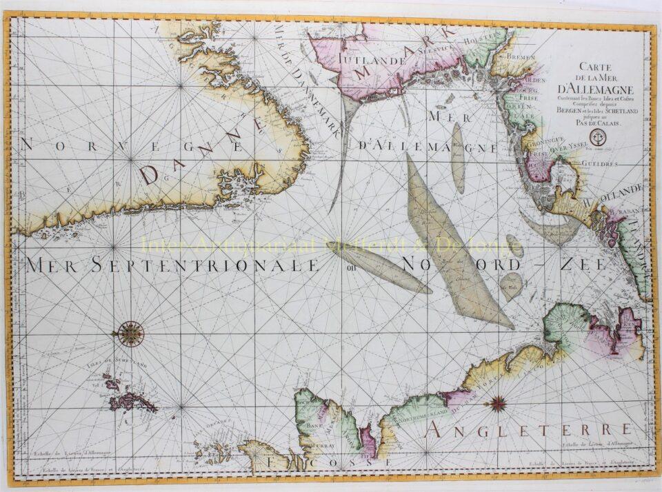 Noordzee - Jacques-Nicolas Bellin