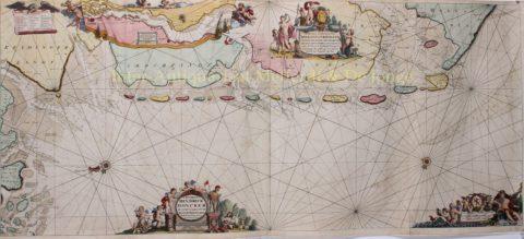 Waddengebied – Hendrick Doncker, ca. 1689