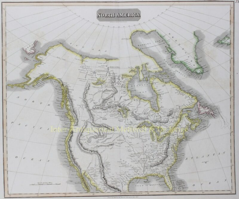 Noord-Amerika – John Thomson, 1814