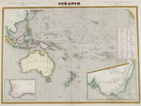 Oceania, Australia – Monin, 1836