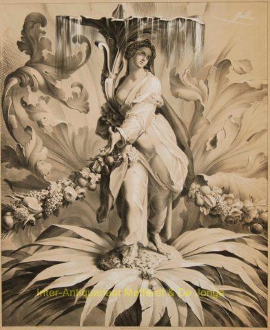 ornament studies – Jullien (Pierre Julien?)
