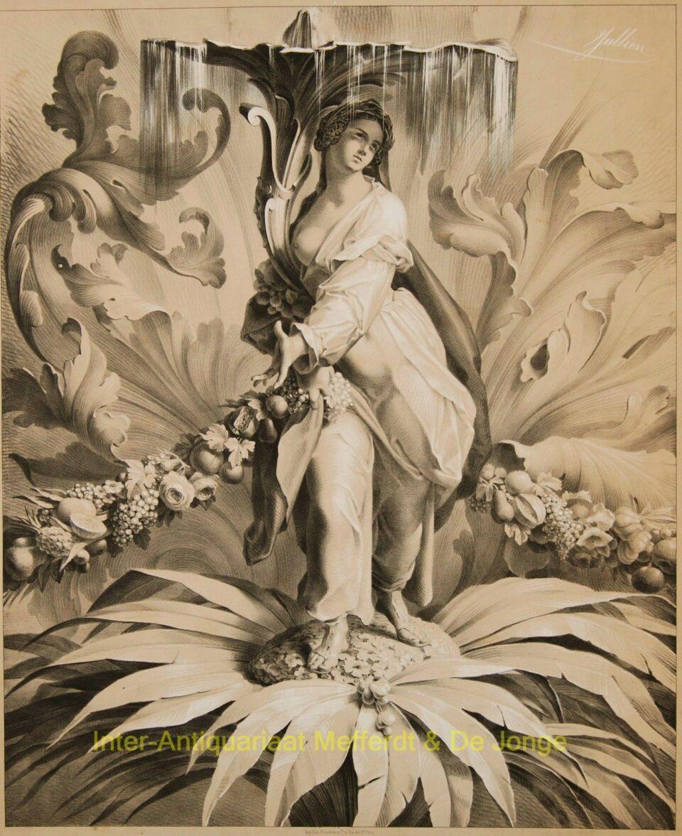 ornament studies - Jullien (Pierre Julien?)