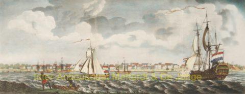 Paramaribo, Waterkant – John Gabriël Stedman, 1794