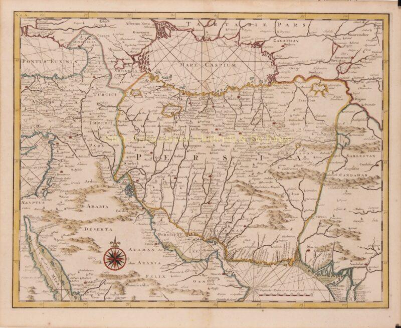 Perzië – François Valentijn, 1724-1726