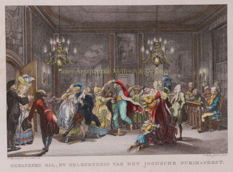 Poerim feest – Caspar Philips Jacobsz., 1781