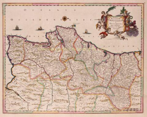 Portugal en Algarve – Justus Danckerts, ca. 1700
