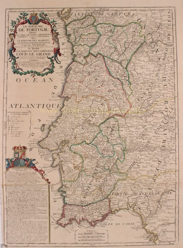 Portugal – Jean-Baptiste Nolin, 1702