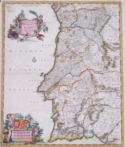 Portugal – Frederick de Wit, 1670