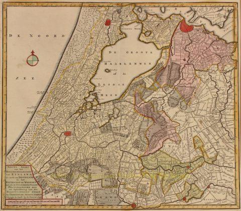Rijnland en Amstelland – Isaak Tirion, 1745