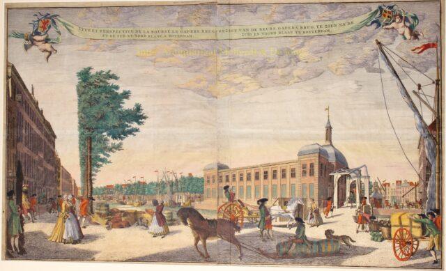 Oude Beurs van Rotterdam - Jacob Lindenberg