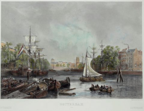 Rotterdam, Oude Haven – Sabatier, ca. 1850