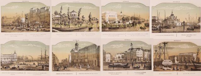 Rotterdam midden 19e-eeuw