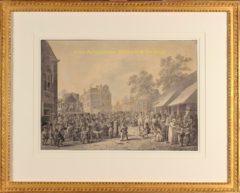 Rotterdam, kermis (lijst) – Jan Anthonie Langendijk, 1804
