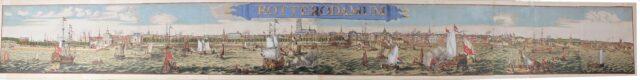 Rotterdam panorama - Romeijn de Hooghe
