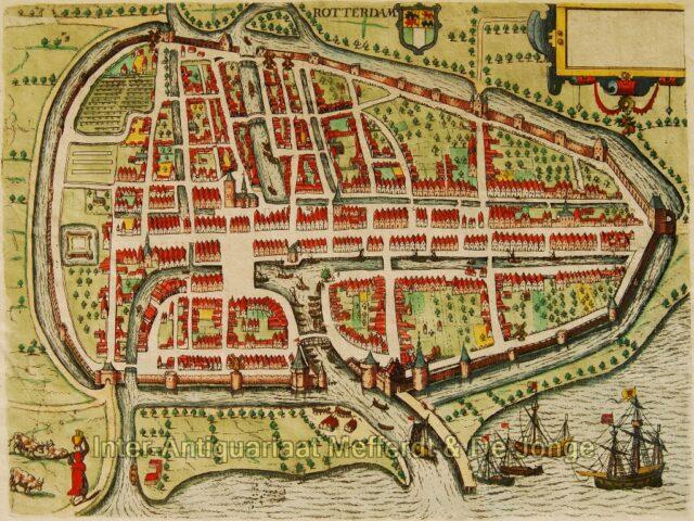 Rotterdam plattegrond - Guicciardini