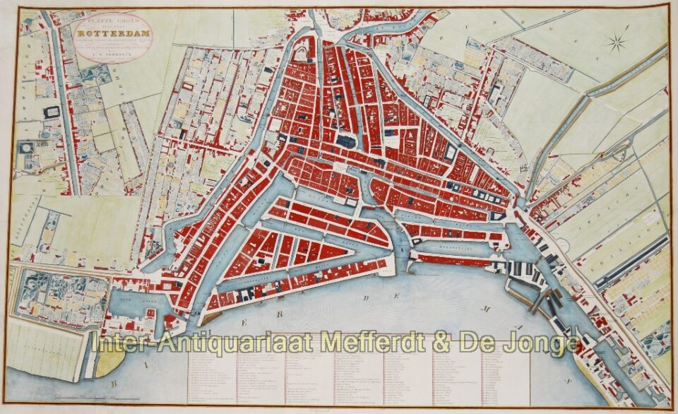 Rotterdam plattegrond - Temminck