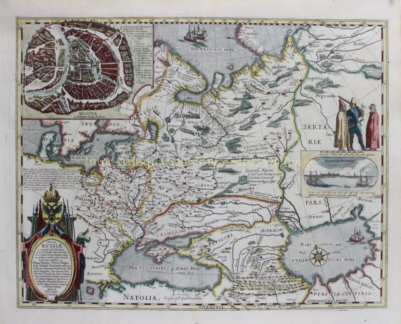Russia – Joan Blaeu, c. 1660