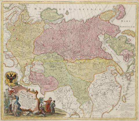 Russian Empire – Conrad Tobias Lotter, 1760