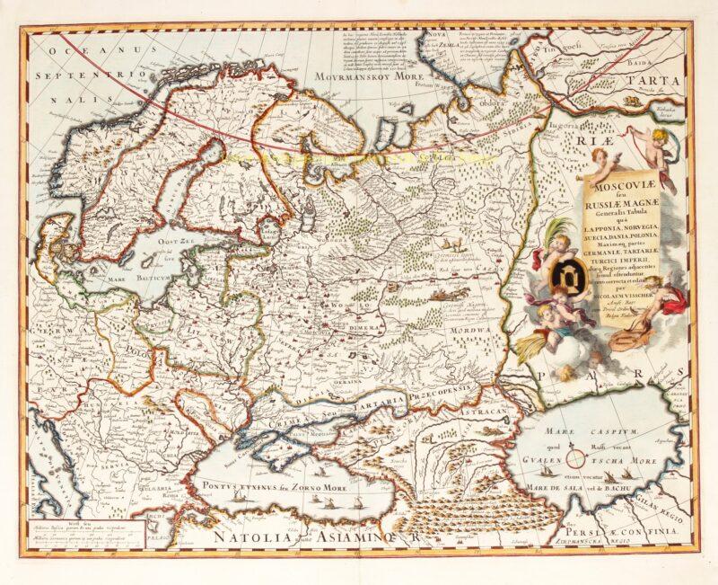Rusland – Nicolaes Visscher, 1681