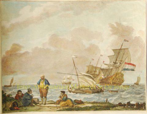 Hoek van Holland – De Sallieth naar Backhuysen, 1783