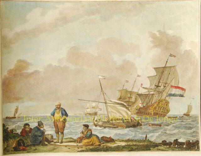 Hoek van Holland - De Sallieth naar Backhuysen