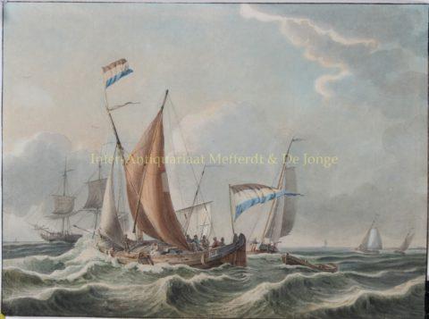 Zeegezicht – Nicolaas Penning, 1811