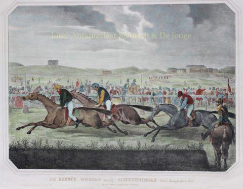 Renbaan Scheveningen – E. Spanier naar H.P. Sartor, 1846